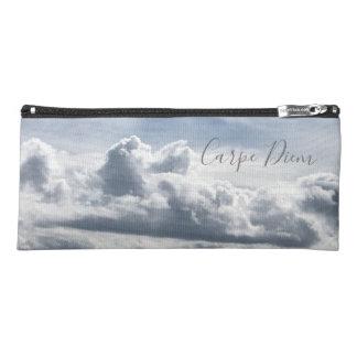 Pencil case Carpe Diem, photo of the clouds