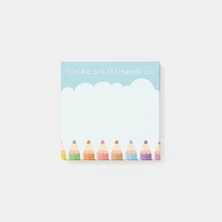 Pencil Cloud Post-it Notes