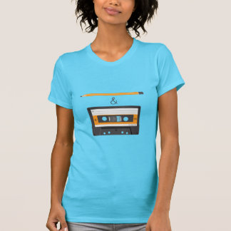 Pencil & Compact Cassette T-Shirt