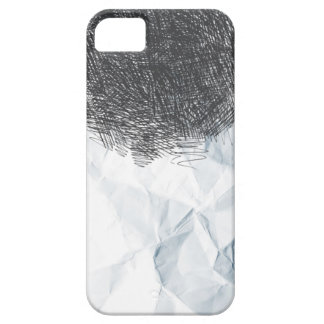 Pencil Drawing Paper Texture iPhone 5 Case