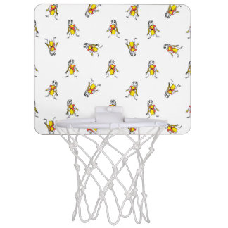 Pencil Drawing Scarecrows Pattern Design Mini Basketball Hoop