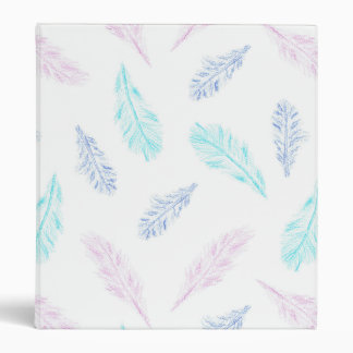 Pencil Feathers 1'' Binder