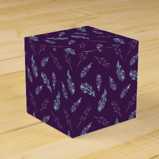 Pencil Feathers Classic Favor Box