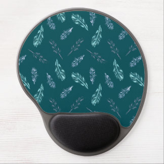 Pencil Feathers Gel Mousepad