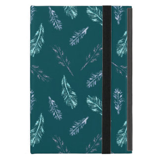Pencil Feathers iPad Mini Case with No Kickstand