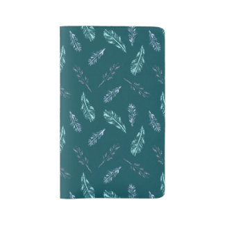 Pencil Feathers Large Notebook