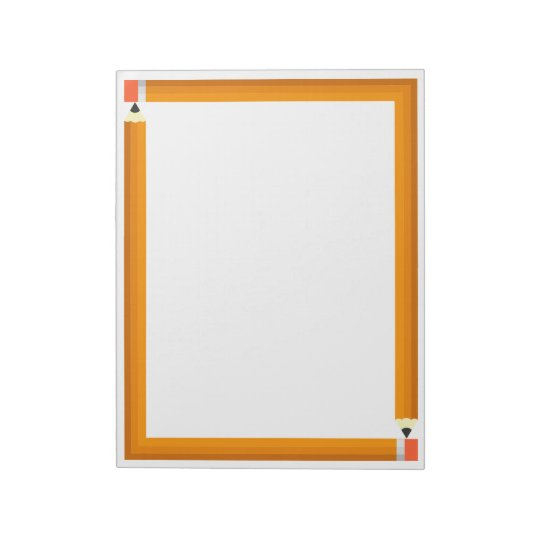 Pencil Frame Notepad