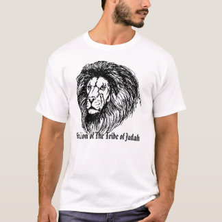 pencil lion, The Lion of The Tribe of Judah T-Shirt