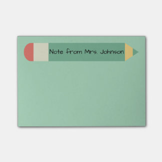 Pencil Note Green