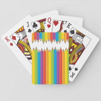 Pencil Playing Cards