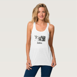 Pencil Rose Zallinn Woman's Tank Top