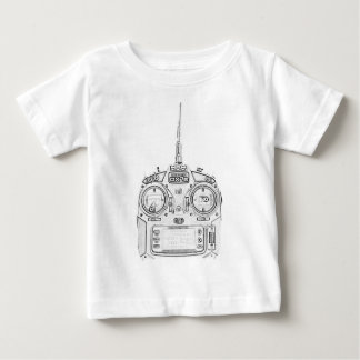 Pencil Rubbed Spektrum RC Radio Baby T-Shirt