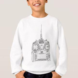 Pencil Rubbed Spektrum RC Radio Sweatshirt