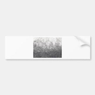 Pencil sketch. Crosshatch strokes. #002a Bumper Sticker