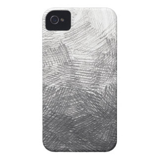 Pencil sketch. Crosshatch strokes. #002a iPhone 4 Cover