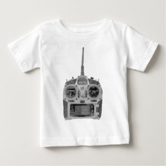 Pencil Sketch Spektrum RC Radio Baby T-Shirt