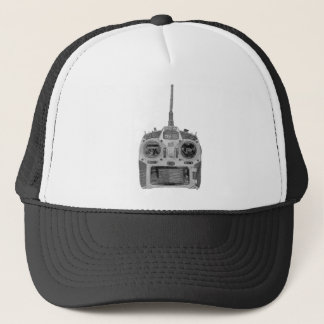 Pencil Sketch Spektrum RC Radio Trucker Hat