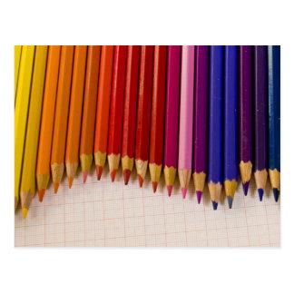 Pencil Wave Postcard
