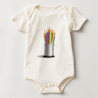 pencils baby bodysuit