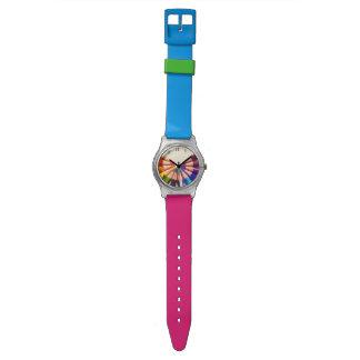 Pencils colors in range watch