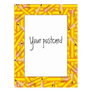 Pencils Frames Postcard