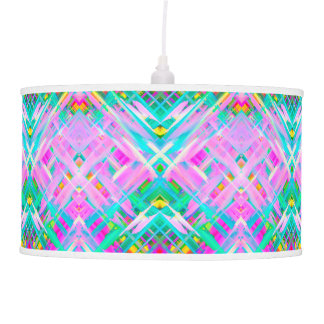Pendant Lamp Colorful digital art splashing G473