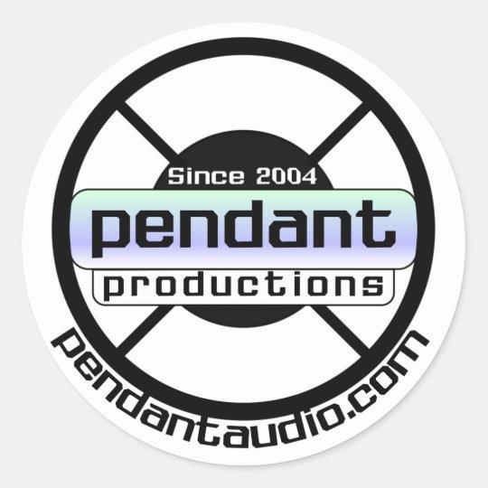 Pendant logo stickers