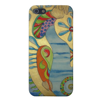 Penelope the Seahorse.jpg iPhone 5/5S Cases