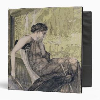 Penelope weaving a shroud for Laertes her father-i Binder