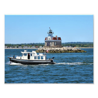 Penfield Reef Lighthouse, Connecticut Photo