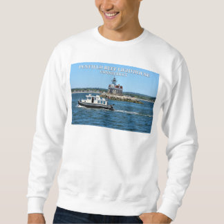 Penfield Reef Lighthouse, Connecticut Sweatshirt