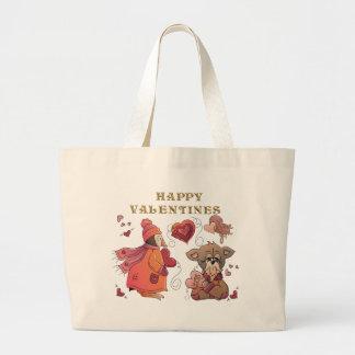 Peng & Pooch Love Tote Bag
