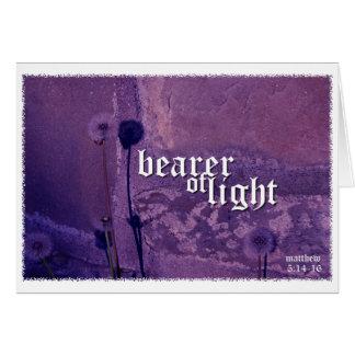 Pengi Apados Bearer of Light notecard Note Card