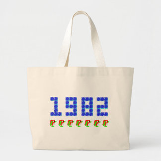 Pengo 1982 Penguins and Ice Cubes Jumbo Tote Bag