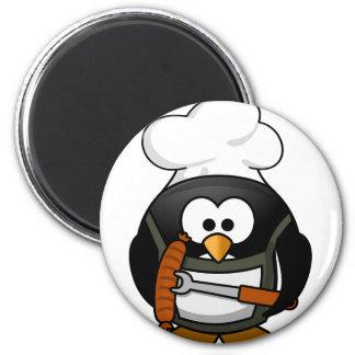 penguin-160159_640 2 inch round magnet