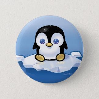 Penguin 2 Inch Round Button