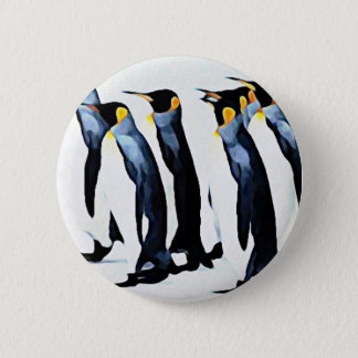Penguin 2 Inch Round Button