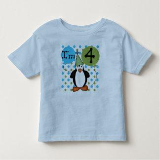 Penguin 4th Birthday Tees