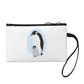 Penguin and Baby Coin Wallet