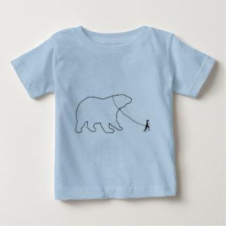 Penguin and Bear Baby T-Shirt