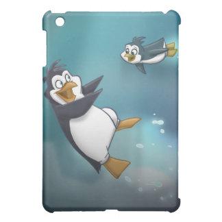Penguin and Child iPad Mini Case