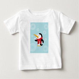 Penguin and snowflake t-shirt
