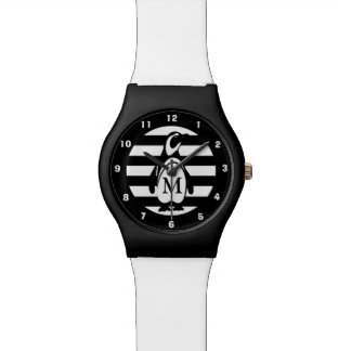 Penguin and Stripes Wristwatches