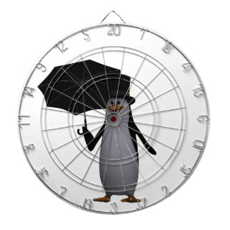 penguin and umbrella dartboard