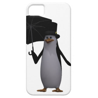 penguin and umbrella iPhone 5 covers