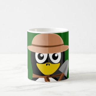Penguin Archaeologist Coffee Mug