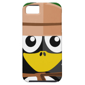 Penguin Archaeologist iPhone 5 Case