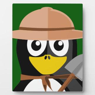 Penguin Archaeologist Plaque