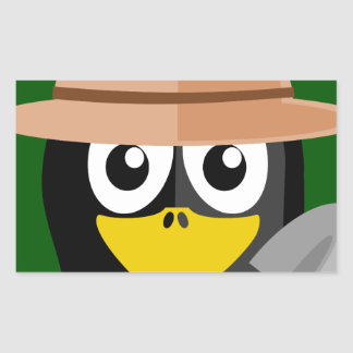 Penguin Archaeologist Sticker