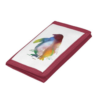Penguin Art Trifold Wallets